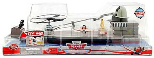 Disney Planes Flying Rescue Heli Exclusive Playset