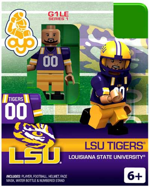 NCAA Generation 1 Series 1 LSU Tigers Minifigure