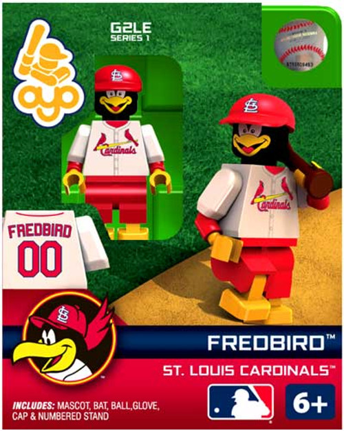 St. Louis Cardinals MLB Generation 2 Series 1 Fredbird Minifigure