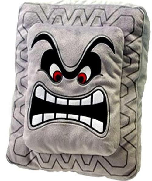 Super Mario Thwomp Plush Pillow