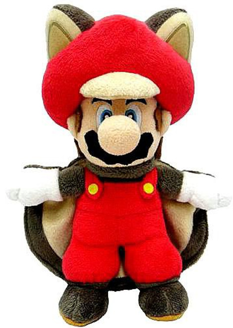 New Super Mario Bros U Mario 14-Inch Plush [Flying Squirrel]