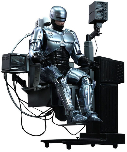 Movie Masterpiece Diecast Robocop 1/6 Collectible Figure [Mechanical Chair version]