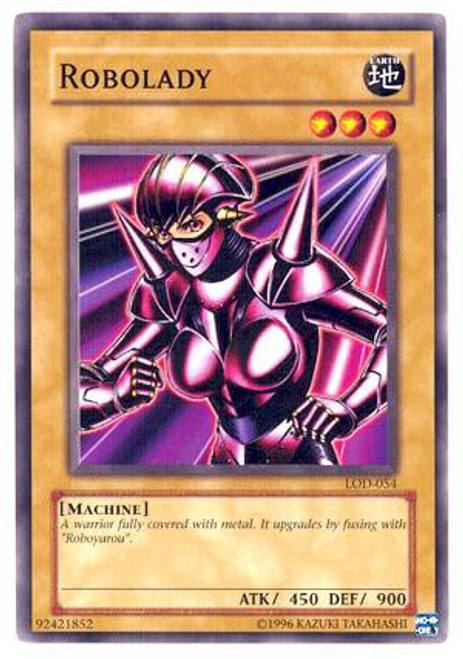 YuGiOh Legacy of Darkness Common Robolady LOD-054