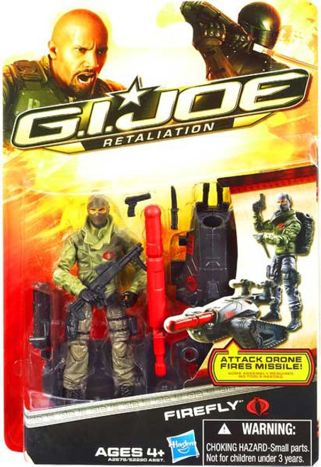 GI Joe Retaliation Ultimate Firefly Action Figure
