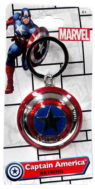 Marvel Captain America Keyring