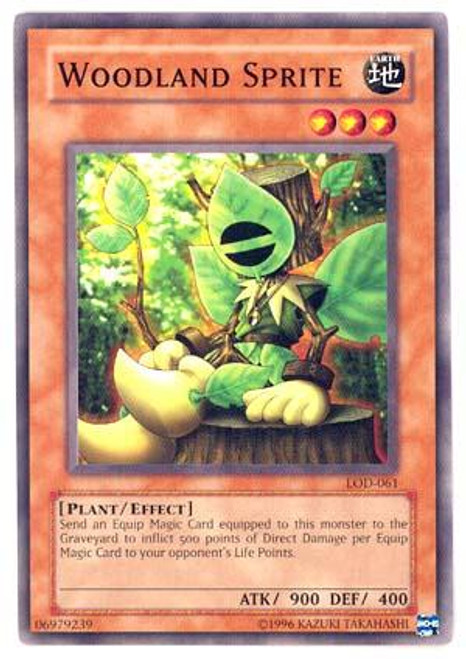 YuGiOh Legacy of Darkness Common Woodland Sprite LOD-061