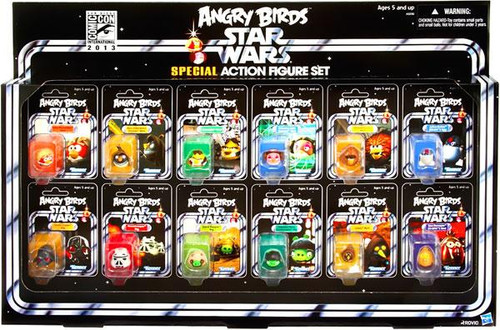 Angry Birds Star Wars Special Exclusive Action Figure Set
