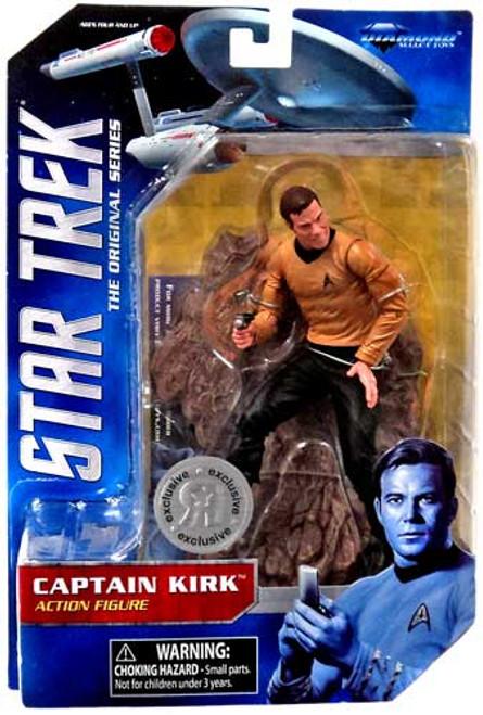 Star Trek The Original Series Captain Kirk Exclusive Action Figure