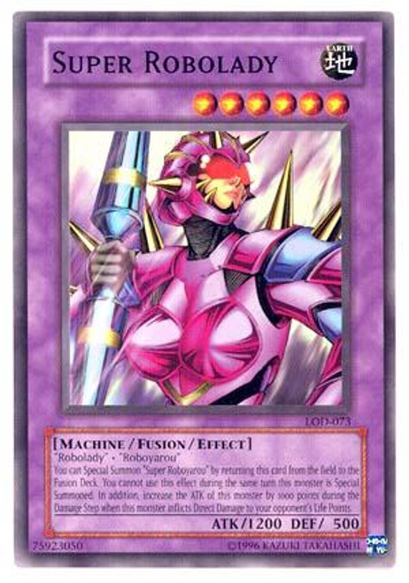 YuGiOh Legacy of Darkness Common Super Robolady LOD-073