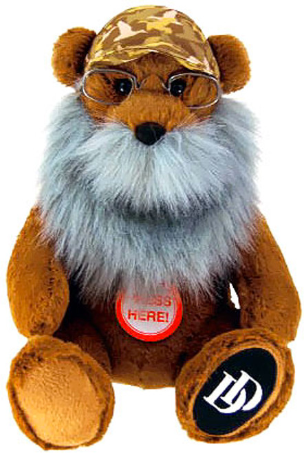 Duck Dynasty Bears with Beards Si 8-Inch Plush [With Sound]