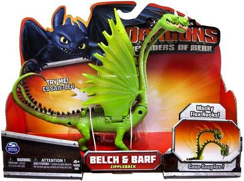 How to Train Your Dragon Defenders of Berk Belch & Barf Action Figure [Zippleback]
