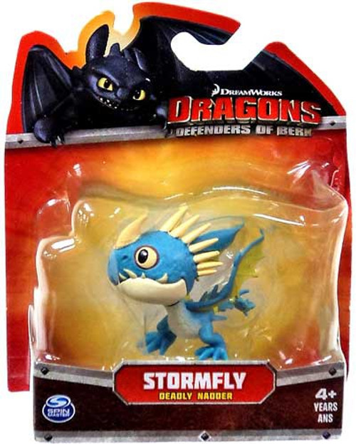 How to Train Your Dragon Dragons Defenders of Berk Stormfly 3-Inch Mini Figure [Deadly Nadder]