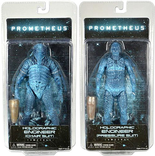 NECA Prometheus Series 3 Set of 2 Engineer Action Figures