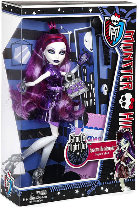 Monster High Ghoul's Night Out Spectra Vondergeist 10.5-Inch Doll