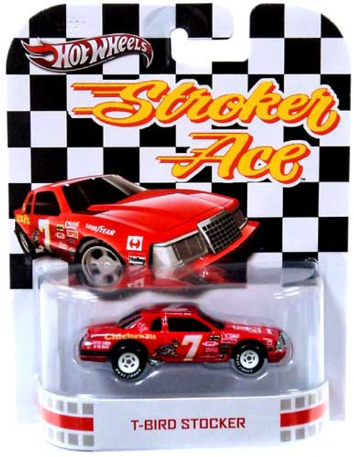 Stroker Ace Hot Wheels Retro T-Bird Stocker Diecast Vehicle
