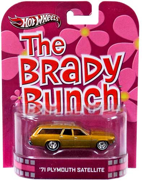 The Brady Bunch Hot Wheels Retro '71 Plymouth Satellite Diecast Vehicle