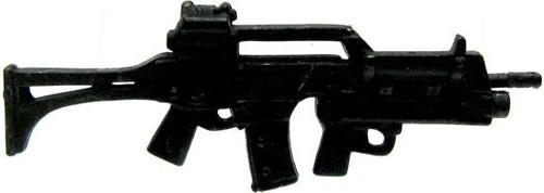 GI Joe Loose Weapons G36 Assault Rifle with Underslung Grenade Launcher Action Figure Accessory [Black Loose]