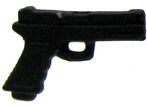 GI Joe Loose Weapons Pistol Action Figure Accessory [Black Loose]