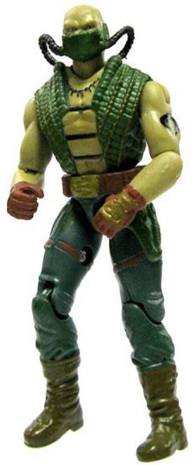 GI Joe Loose Croc Master Action Figure [Version 2 Loose]