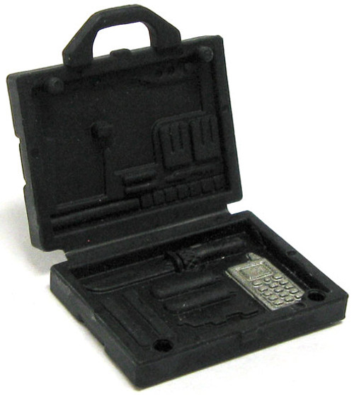 GI Joe Loose MARS Briefcase Action Figure Accessory [Black Loose]