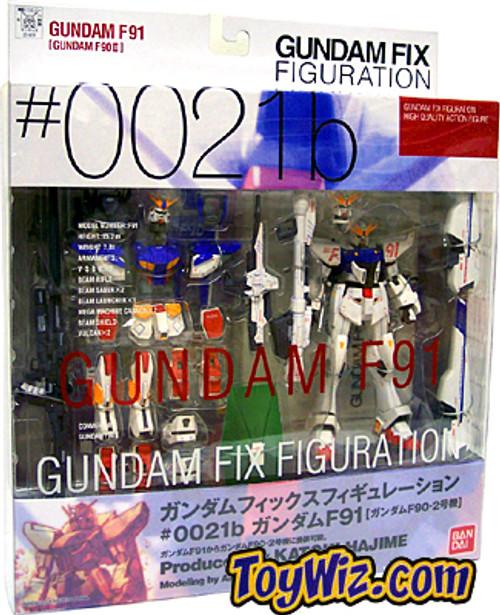Gundam Fix Figuration Metal Composite F91 Action Figure #0021B