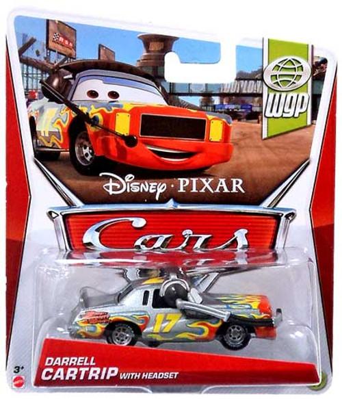 Disney Cars Series 3 Darrell Cartrip Diecast Car