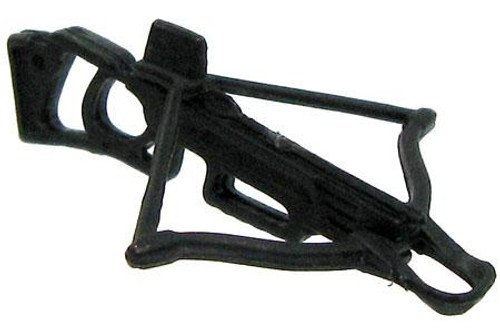 GI Joe Loose Weapons 2-Part Crossbow Action Figure Accessory [Black Loose]