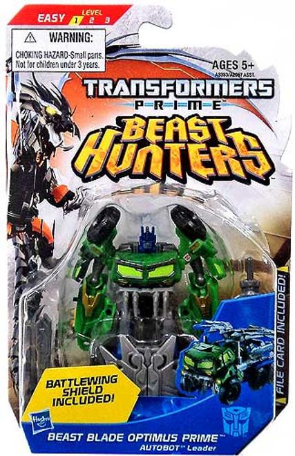 Transformers Beast Hunters Commander Beast Blade Optimus Prime Commander Action Figure
