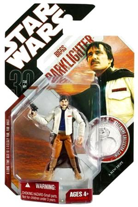 Star Wars A New Hope 30th Anniversary 2007 Wave 3 Biggs Darklighter Action Figure #17 [Imperial Academy]