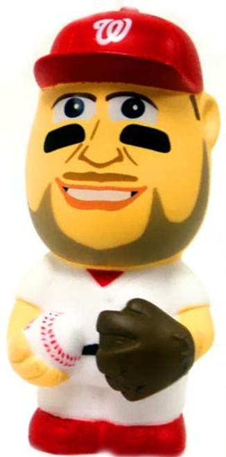 MLB Washington Nationals Big League Minis Bryce Harper Vinyl Mini Figure [White Uniform Variant Loose]
