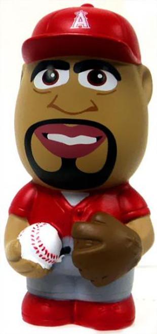 MLB Anaheim Angels Big League Minis Albert Pujols Vinyl Mini Figure [Red Uniform Variant Loose]
