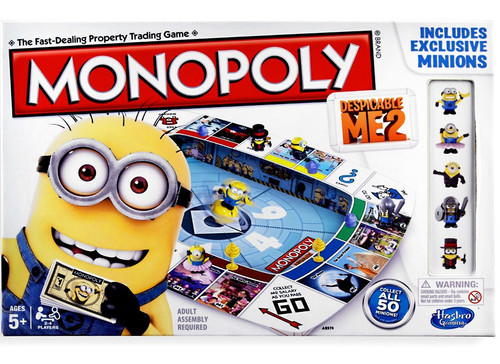 Despicable Me 2 Monopoly Board Game