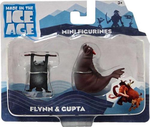 Ice Age Continental Drift Flynn & Gupta Mini Figure 2-Pack [Loose]