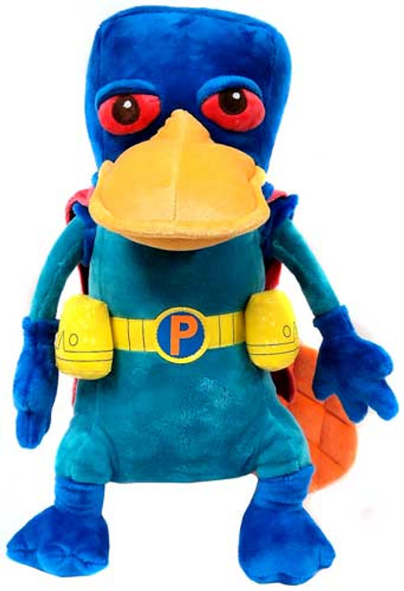 Disney Phineas and Ferb Mission Marvel Perry 15-Inch Plush