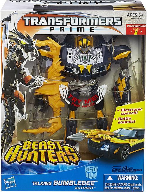 Transformers Prime Beast Hunters Talking Bumblebee Action Figure