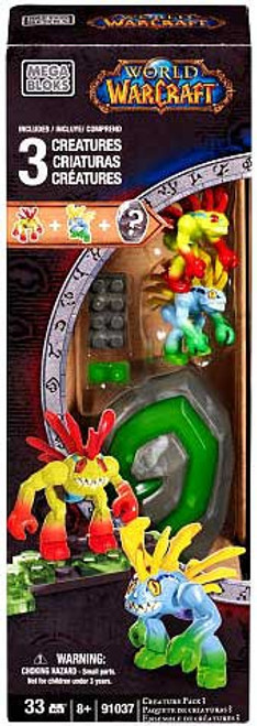 Mega Bloks World of Warcraft Creature Pack #3 Set #91037