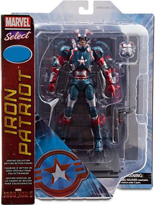 Disney Iron Man 3 Marvel Select Iron Patriot Exclusive Action Figure
