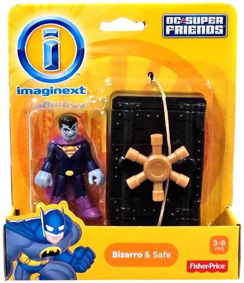 Fisher Price DC Super Friends Superman Imaginext Bizarro & Safe 3-Inch Mini Figure
