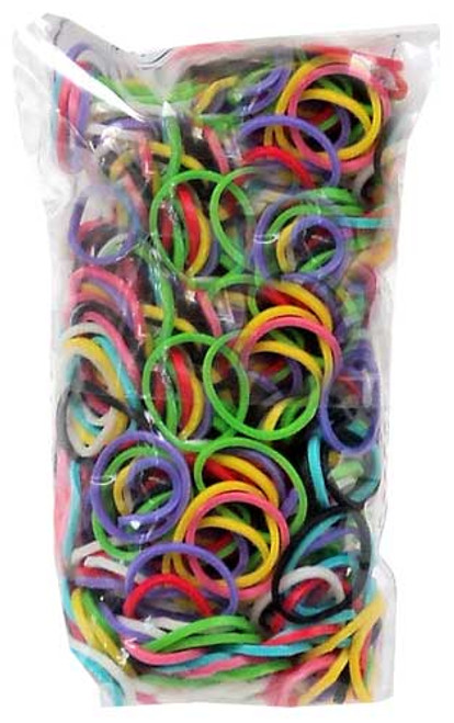 Rainbow Loom Multi-Color Rubber Bands Refill Pack RL2 [600 ct]