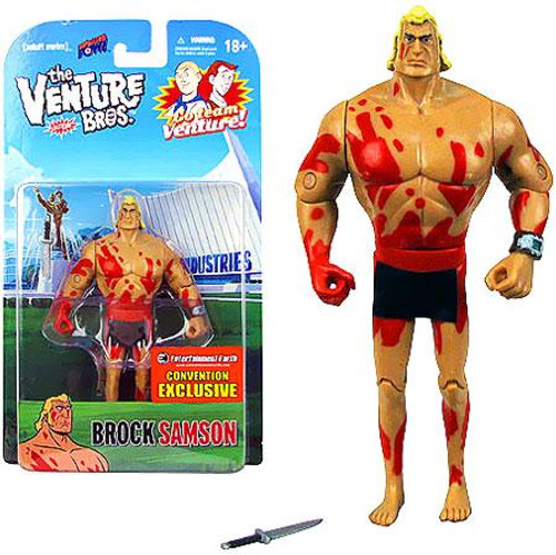 The Venture Bros. Brock Sampson Exclusive Action Figures [Naked]