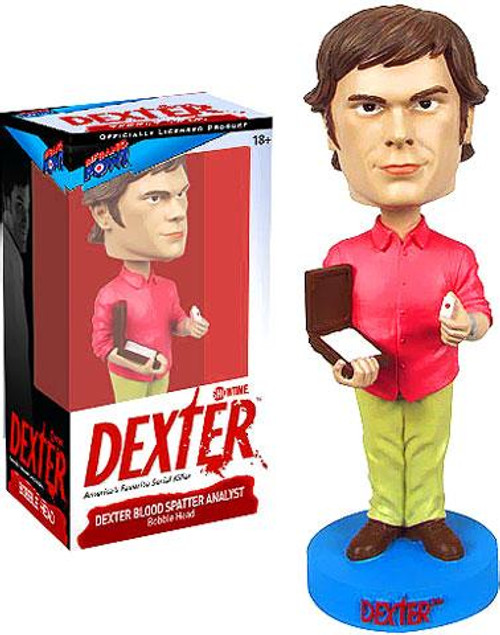 Dexter Morgan Exclusive Bobble Head [Blood Spatter Analyst]