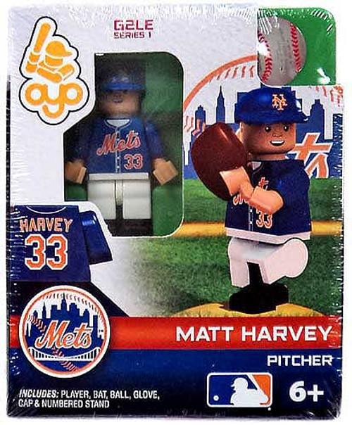 New York Mets MLB Generation 2 Series 1 Matt Harvey Minifigure
