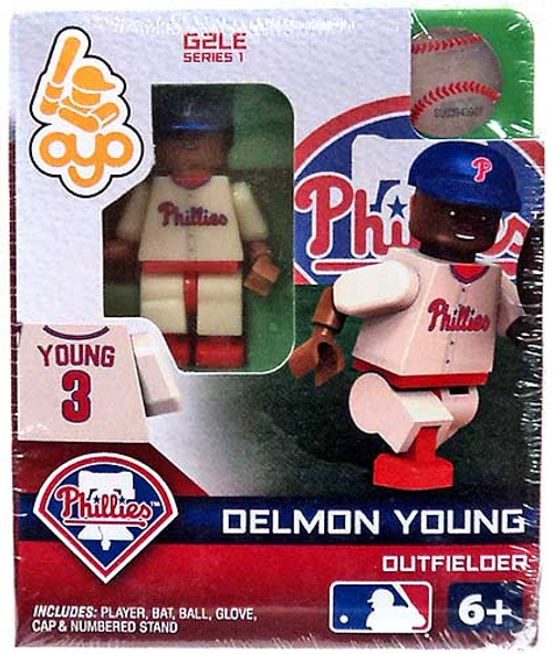 Philadelphia Phillies MLB Generation 2 Series 1 Delmon Young Minifigure