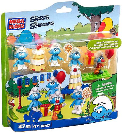 Mega Bloks The Smurfs Smurfs Celebration Set #10767