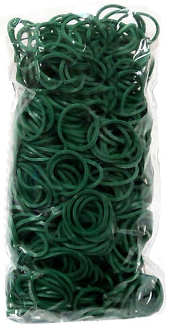 Rainbow Loom Dark Green Rubber Bands Refill Pack RL21 [600 ct]