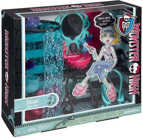 Monster High Lagoona Blue Shower 10.5-Inch Doll Playset