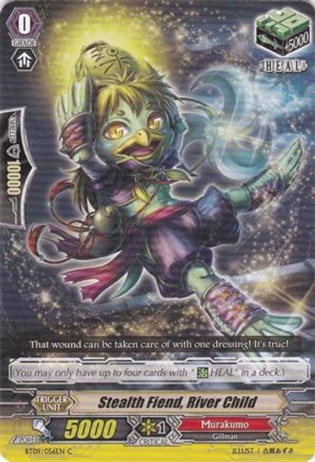Cardfight Vanguard Clash of the Knights & Dragons Common Stealth Fiend, River Child BT09/056