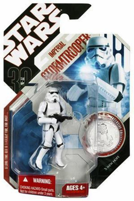 Star Wars A New Hope 30th Anniversary 2007 Wave 3 Imperial Stormtrooper Action Figure #20 [Removable Helmet]