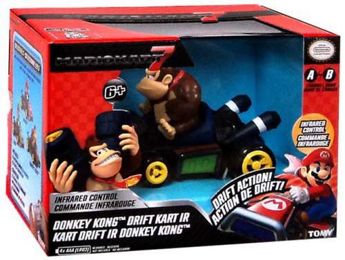 Super Mario Mario Kart 7 Drift Kart IR Donkey Kong R/C Car