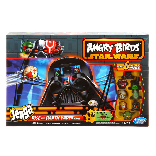 Star Wars Angry Birds Jenga Rise of Darth Vader Game